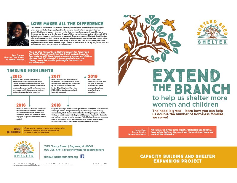 2019 Extend the Branch Brochure