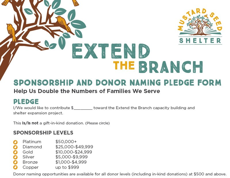 Extend the Branch Donation Form