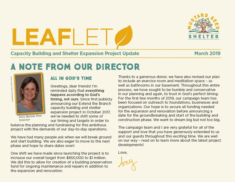 Leaflet March 2019